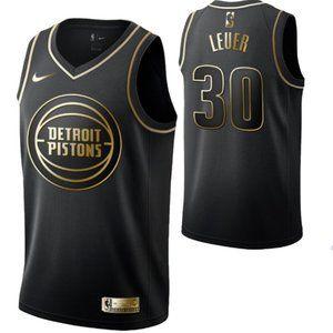 Detroit Pistons #30 Jon Leuer  Swingman Jersey